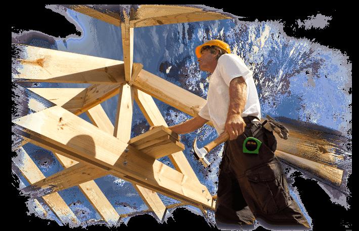 Oferujemy budowę więźb we współpracy z profesjonalnymi ekipami cisielskimi.