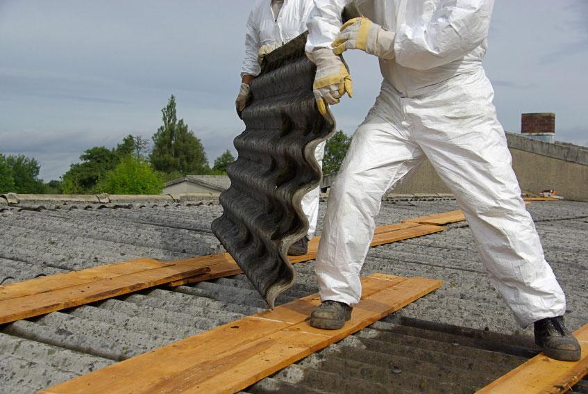 Usuwanie azbestu i przewóz produktów azbestowych
